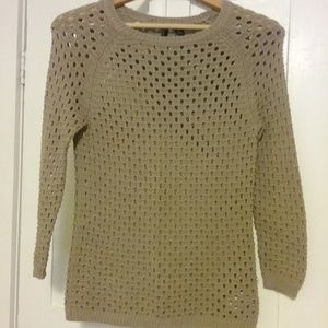Fishnet Knit Sweater